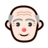 Old Man: Light Skin Tone on emojidex 1.0.33