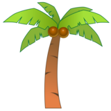 Palm Tree on emojidex 1.0.33