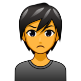 Person Pouting on emojidex 1.0.33