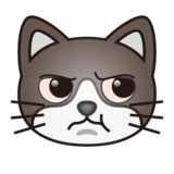 Pouting Cat on emojidex 1.0.33