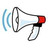 Loudspeaker on emojidex 1.0.33
