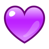 Purple Heart on emojidex 1.0.33