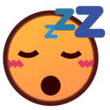 Sleeping Face on emojidex 1.0.33
