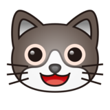 Grinning Cat Face on emojidex 1.0.33