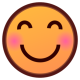 Smiling Face With Smiling Eyes on emojidex 1.0.33