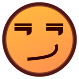Smirking Face on emojidex 1.0.33