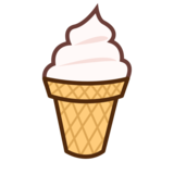 Soft Ice Cream on emojidex 1.0.33