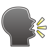 Speaking Head on emojidex 1.0.33