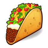 Taco on emojidex 1.0.33