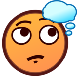 Thinking Face on emojidex 1.0.33