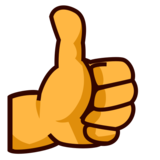 Thumbs Up on emojidex 1.0.33