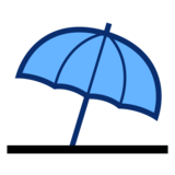 Umbrella on Ground on emojidex 1.0.33