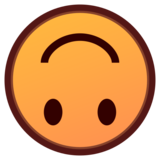 Upside-Down Face on emojidex 1.0.33