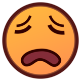 Weary Face on emojidex 1.0.33