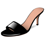 Woman's Sandal on emojidex 1.0.33