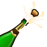Bottle With Popping Cork on emojidex 1.0.34