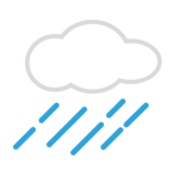 Cloud with Rain on emojidex 1.0.34