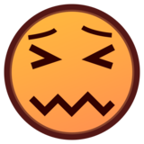 Confounded Face on emojidex 1.0.34