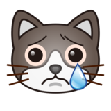 Crying Cat on emojidex 1.0.34