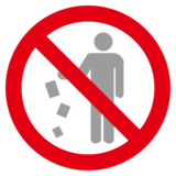 No Littering on emojidex 1.0.34