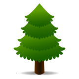 Evergreen Tree on emojidex 1.0.34