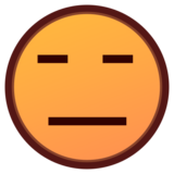 Expressionless Face on emojidex 1.0.34