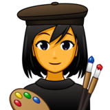 Woman Artist on emojidex 1.0.34