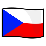 Flag: Czechia on emojidex 1.0.34