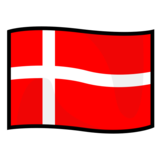 Flag: Denmark on emojidex 1.0.34