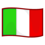 Flag: Italy on emojidex 1.0.34