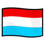 Flag: Luxembourg on emojidex 1.0.34