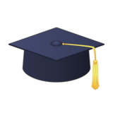 Graduation Cap on emojidex 1.0.34