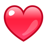 Red Heart on emojidex 1.0.34