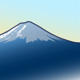 Mount Fuji on emojidex 1.0.34