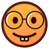 Nerd Face on emojidex 1.0.34