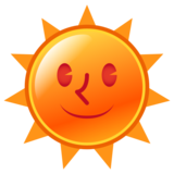 Sun with Face on emojidex 1.0.34