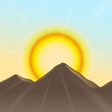 Sunrise Over Mountains on emojidex 1.0.34