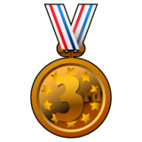 3rd Place Medal on emojidex 1.0.34