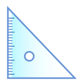 Triangular Ruler on emojidex 1.0.34