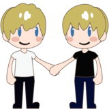 Men Holding Hands: Light Skin Tone on emojidex 1.0.34