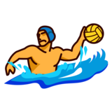 Person Playing Water Polo on emojidex 1.0.34