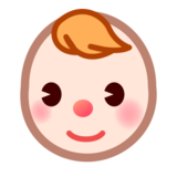 Baby: Light Skin Tone on emojidex 1.0.14
