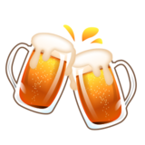 Clinking Beer Mugs on emojidex 1.0.14