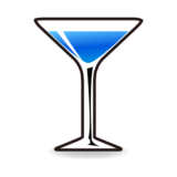 Cocktail Glass on emojidex 1.0.14