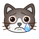 Crying Cat Face on emojidex 1.0.14