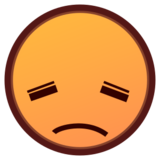 Disappointed Face on emojidex 1.0.14