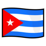 Flag: Cuba on emojidex 1.0.14
