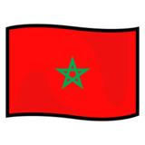 Flag: Morocco on emojidex 1.0.14