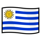 Flag: Uruguay on emojidex 1.0.14