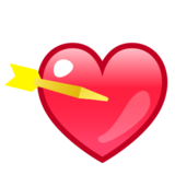 Heart With Arrow on emojidex 1.0.14